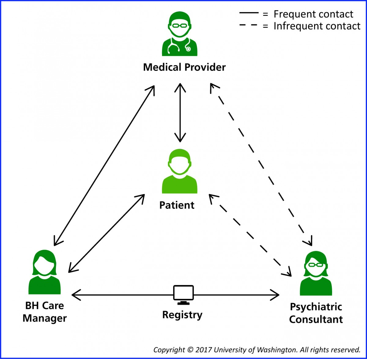 Collaborative Care Team Structure