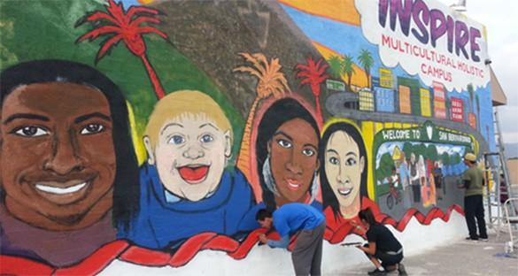 El Sol Neighborhood Educational Center in San Bernardino, California